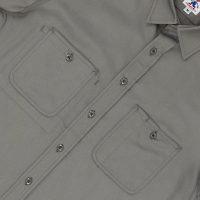 Short-Sleeve 3-Pocket Work Shirt