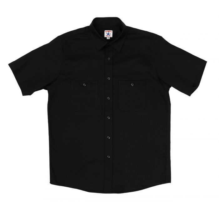 Short-Sleeve 3-Pocket Work Shirt